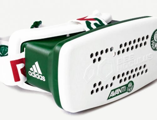 Óculos de realidade virtual Palmeiras RV360