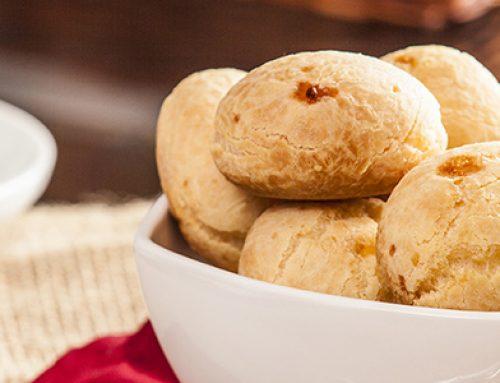 Receita: pão de queijo de batata doce e Whey Protein