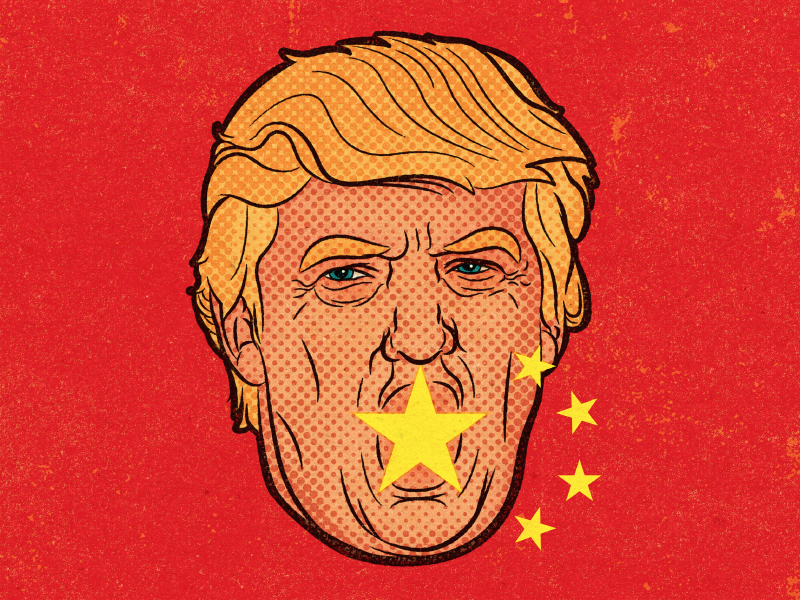 "Trump's Favorite ""Bad Word"" China por Alexei Vella"