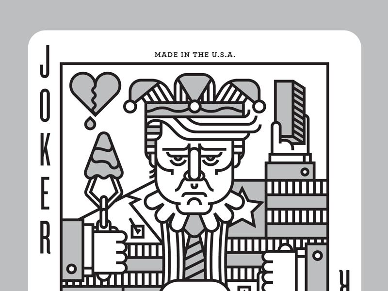 Trump Joker porKendrickKidd