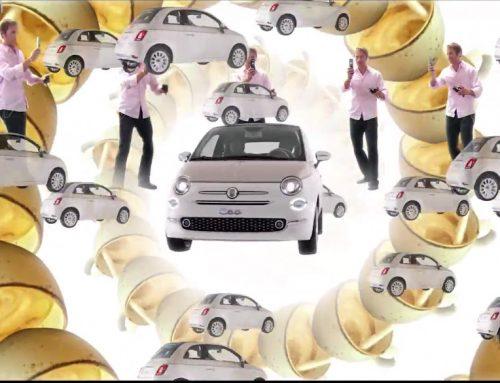 Comercial psicodélico comemora 60 anos do Fiat 500
