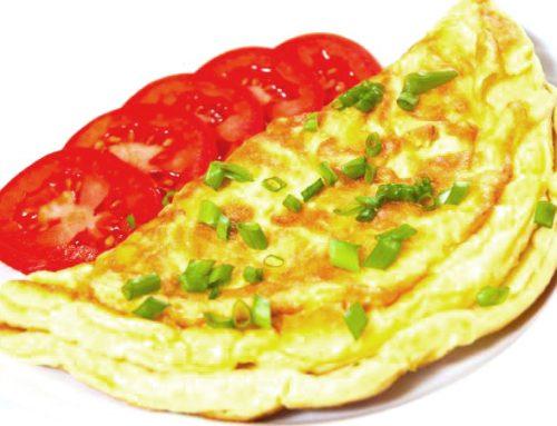 Como fazer omelete de queijo