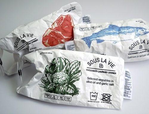 Sacos para cozinhar em máquina de lavar no método Sous-vide