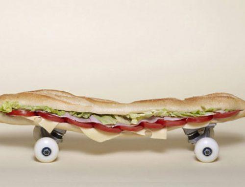 Skates criativos
