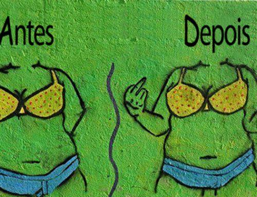 Ilustrações para protestar contra a gordofobia