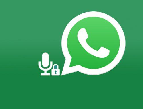 WhatsApp agora grava mensagem de voz sem segurar botão