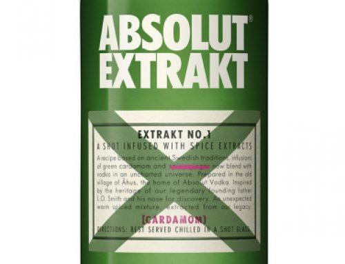 Absolut Extrakt. Garrafa verde em edição especial para o Lollapalooza 2018
