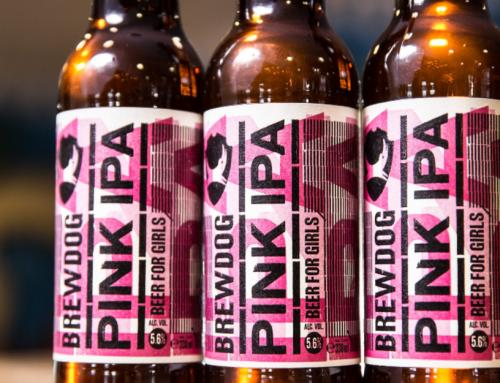 Brewdog Pink IPA, uma cerveja pela igualdade.