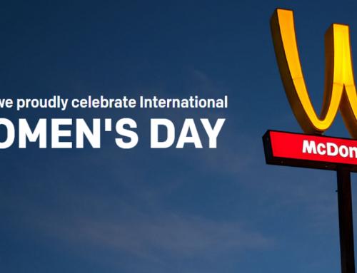 Woman´s Day | McDonald´s inverte o logo em homenagem às mulheres