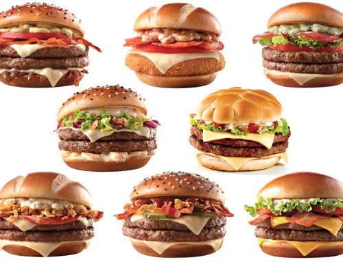 Cardápio do Mcdonald´s para a Copa do Mundo de 2018