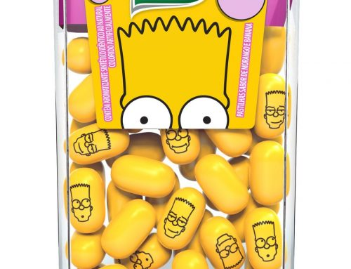 Tic Tac Simpsons Sabor Chiclete