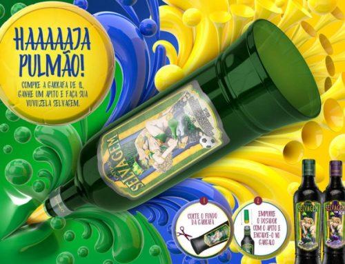 Garrafa de Catuaba se transforma em Vuvuzela