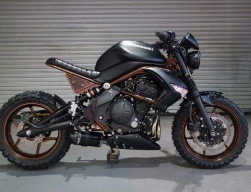 Kawasaki ER6-N Scrambler