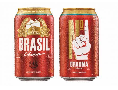 """Para a Copa do Mundo, Brahma muda nome para """"Brasil"""""""