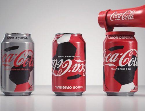 Latas Coca-cola | Corneta, Virada e Pênalti