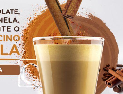 Mochaccino Canela, novo sabor Nescafé Dolce Gusto