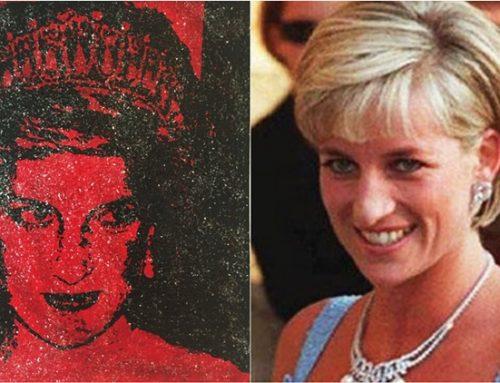 Artista pinta retrato da princesa Diana com sangue infectado por HIV