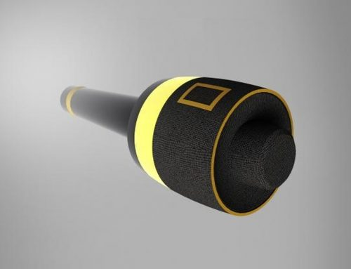 Microfone com detector de mentiras