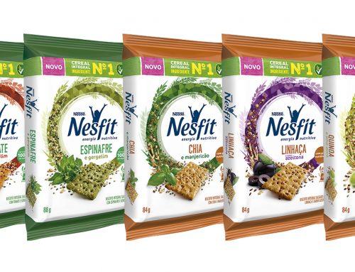 NESFIT lança biscoitos com Farinha de Vegetal e Grãos Nobres