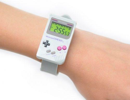 Relógio Nintendo em formato de Game Boy