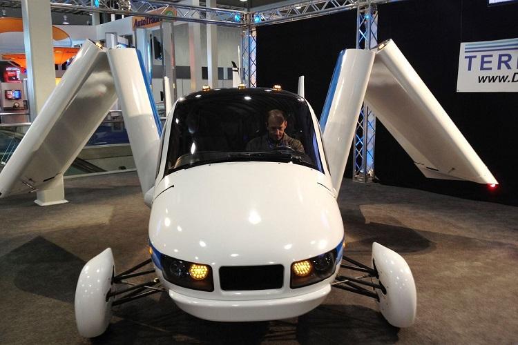 Carro voador futurista